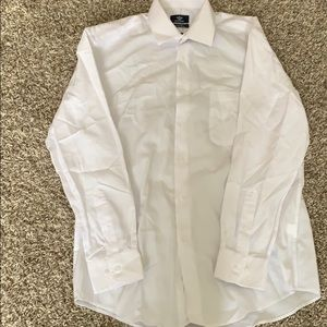 Dockers white button up
